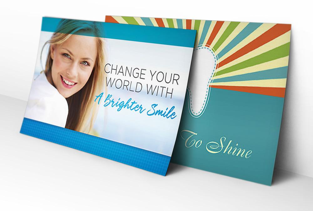 dental postcards by PracticeMojo